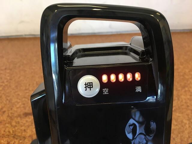 パナソニック電動アシスト自転車バッテリー充電中