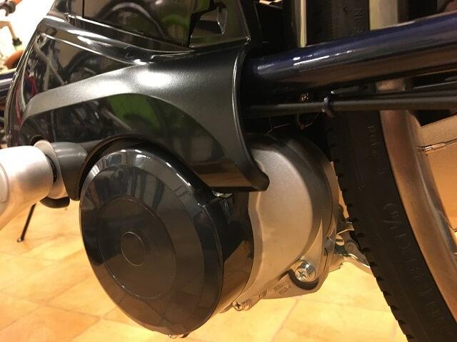 パナソニック電動アシスト自転車ビビDXモーターユニット
