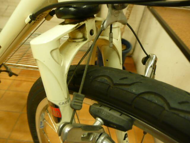 ブリヂストン逆輸入自転車マウンテンバイクMB-1フロントフォーク
