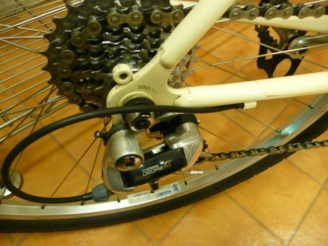 ブリヂストン逆輸入自転車マウンテンバイクMB-1リアディレイラー