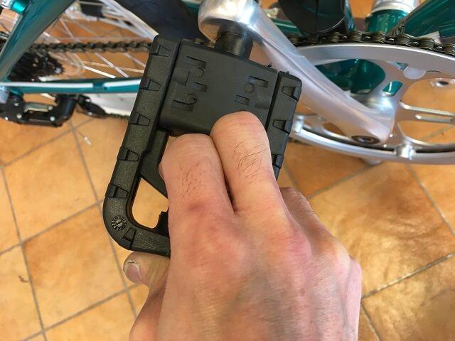 ダホン ボードウォークD7折り畳みペダルレバー引く