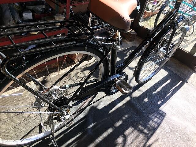 自転車ホイール手組一般自転車用組付け完了