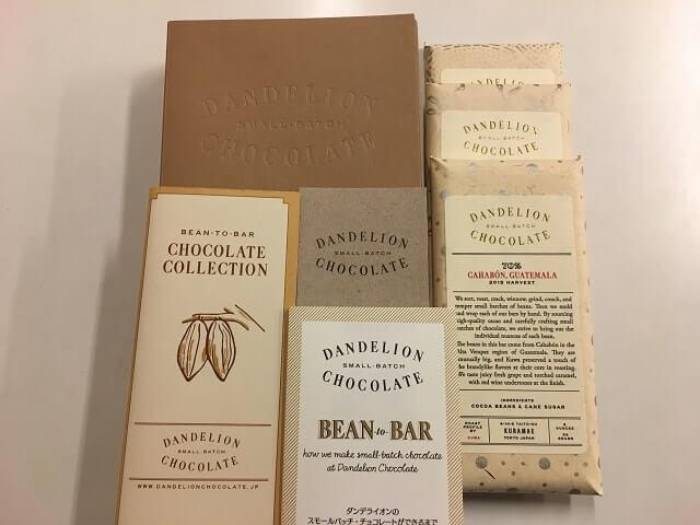 ダンデライオンチョコレート蔵前コレクション