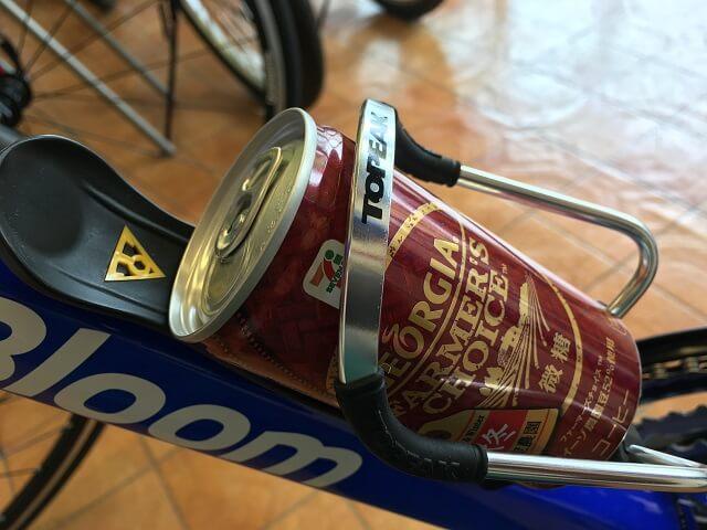 モジュラーケージ2 ボトルケージと缶コーヒー185ml