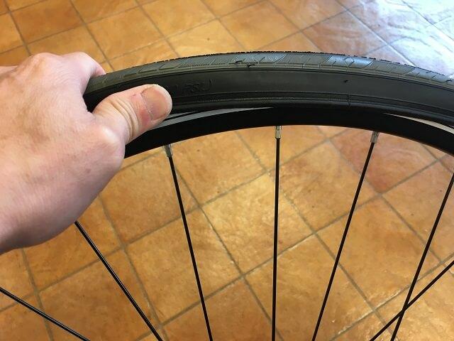 シュワル イージーフィット使用前 タイヤが硬くて入れずらい