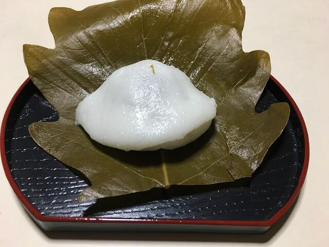 柏町を葉を開く 小田原「佐宗菓子舗」