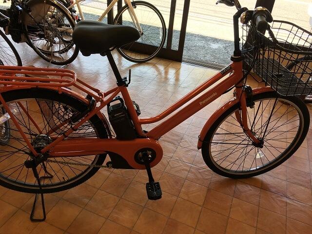 パナソニック電動アシスト自転車 ティモS BE-ELTS633 Kオレンジ