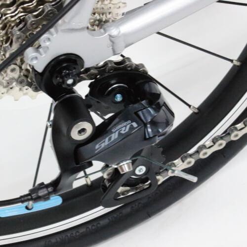 コーダーブルーム 2019年レイル20 リアディレイラーはシマノSORA9速