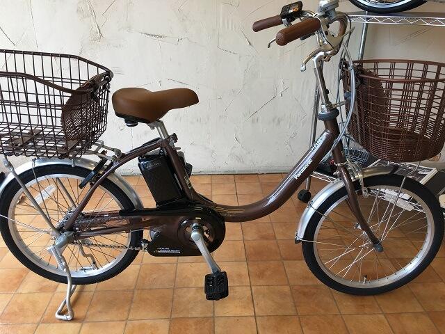 ビビLS 20インチパナソニック電動アシスト自転車