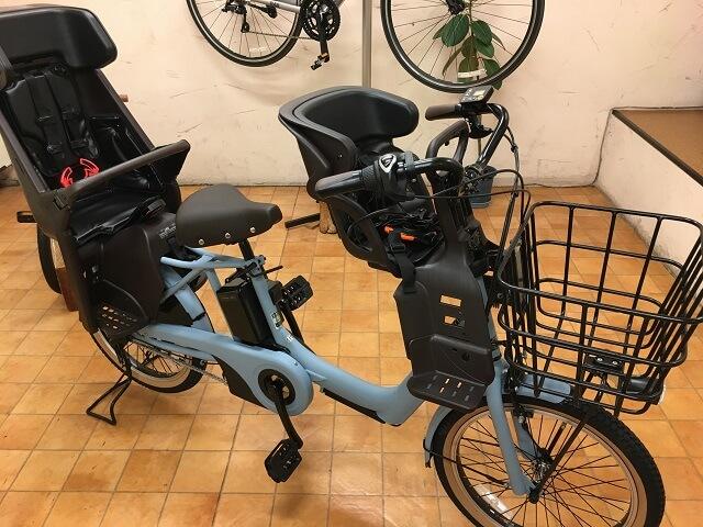 パナソニッ3人乗り子供乗せ電動アシスト自転車ギュットアニーズDX