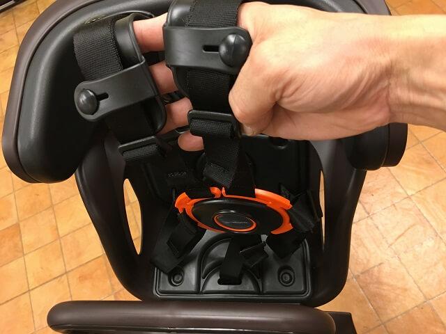 ギュットアニーズ用7プレミアムチャイルドシート巻き取り式シートベルト