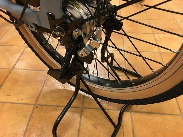 パナソニック電動自転車ギュットアニーズDX両立スタンド