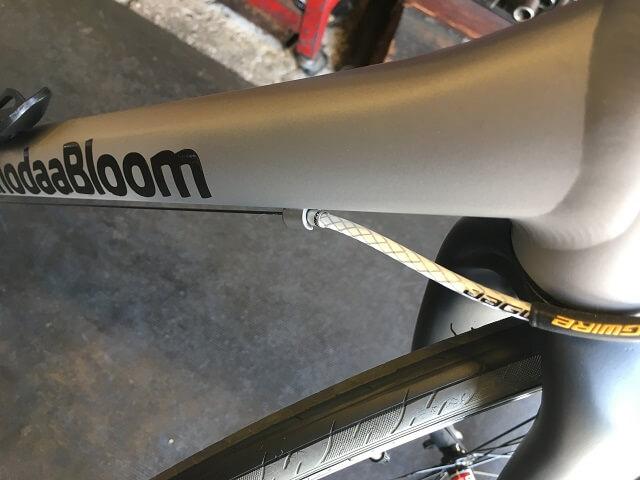 マット塗装自転車のフレーム コーダーブルームレイル700SL