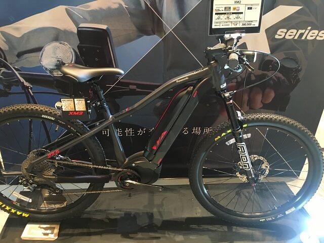 パナソニック電動アシスト自転車XM2 BE-EWM40