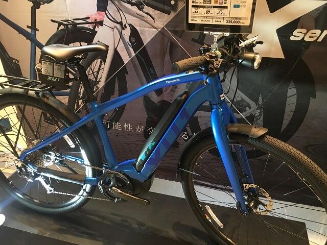 パナソニック電動アシスト自転車XU1 BE-EXU44V