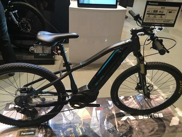 パナソニック電動アシスト自転車XM1 BE-EXM240