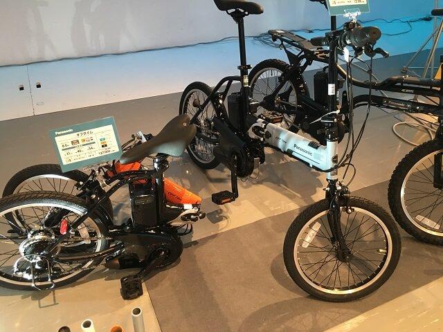 パナソニック電動アシスト自転車 オフタイム BE-ELW072A