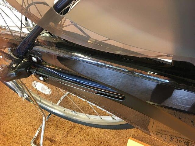 電動アシスト自転車用樹脂製チェーンケース