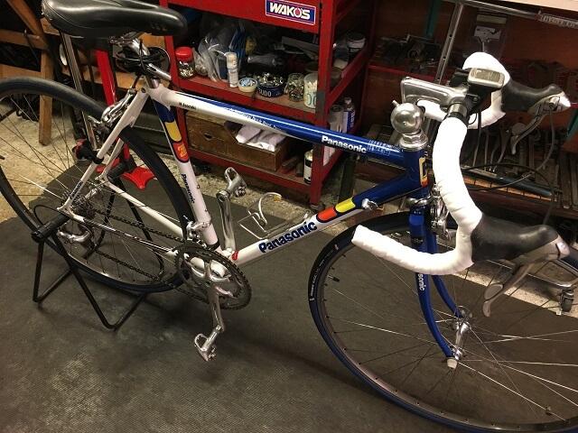 20年前のロードバイク フルオーバーホール作業完了