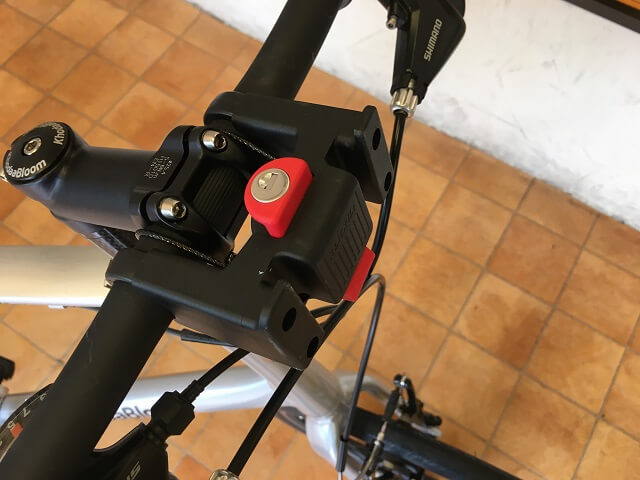 コーダーブルーム2019 レイル20インチにリキセンカウルのキー付のバスケットアダプター装着
