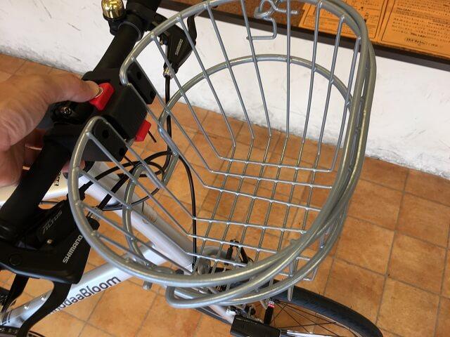 コーダーブルーム2019 レイル20にリキセンカウルのミニワイヤーバスケット装着