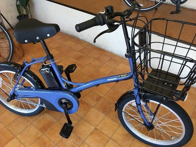 パナソニック電動アシスト自転車グリッター BE-ELGL033V