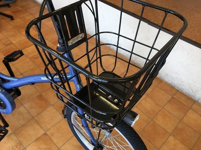 パナソニック電動アシスト自転車グリッター BE-ELGL033 ブロントバスケット搭載