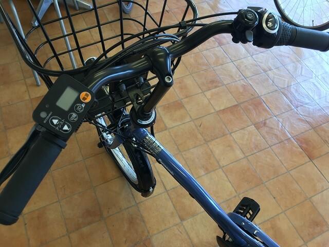 パナソニック電動アシスト自転車グリッター BE-ELGL033フラットハンドル