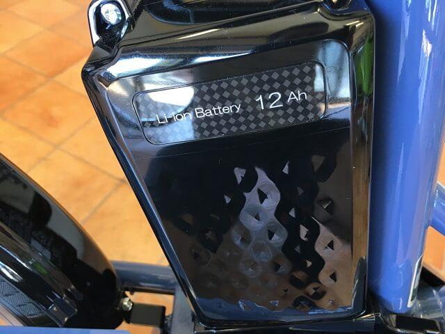 パナソニック電動アシスト自転車グリッター BE-ELGL033 12Ahバッテリー