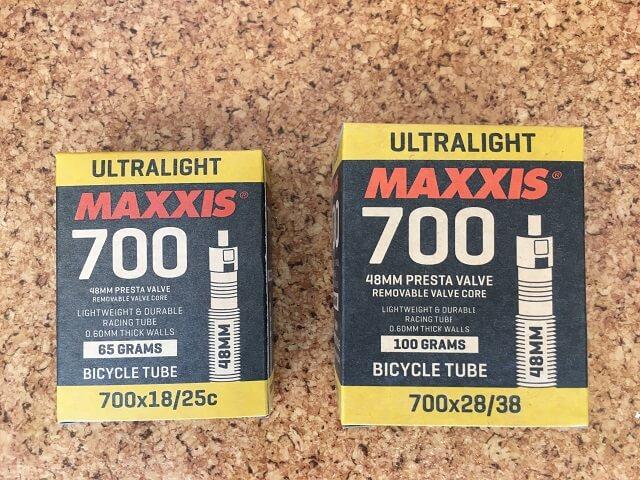 クロスバイクのチューブサイズ確認700C