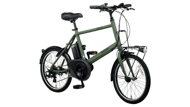 パナソニック電動アシスト自転車ベロスターミニ BE-ELVS07 サイドから