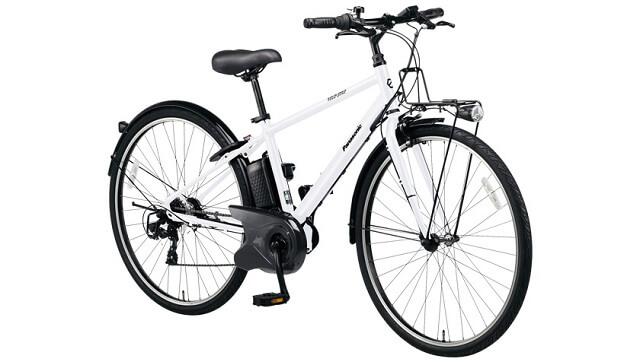 パナソニック電動アシスト自転車VELOSTAR(ベロスター)斜め前から BE-ELVS77