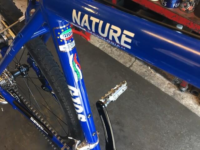 サイクルクリーニング フレーム汚れ落しアフター ジオスナチュール