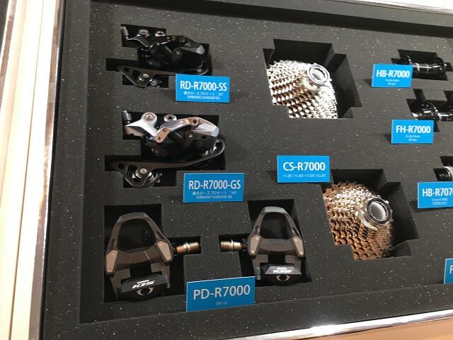 シマノR7000 カセットスプロケット