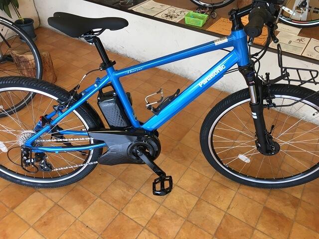 パナソニック電動アシスト自転車「ハリヤ」BE-ELH242BV