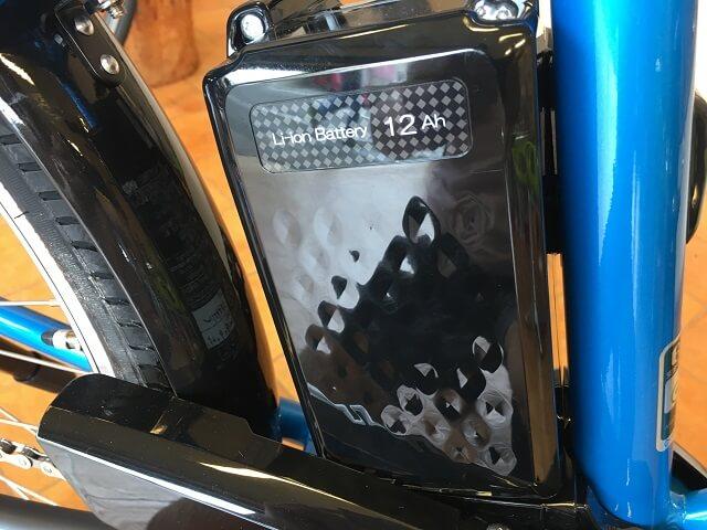 パナソニック電動アシスト自転車「ハリヤ」12Ahリチウムイオンバッテリー