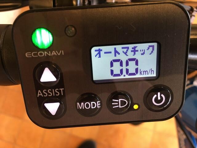 エコナビ液晶スイッチ4S+