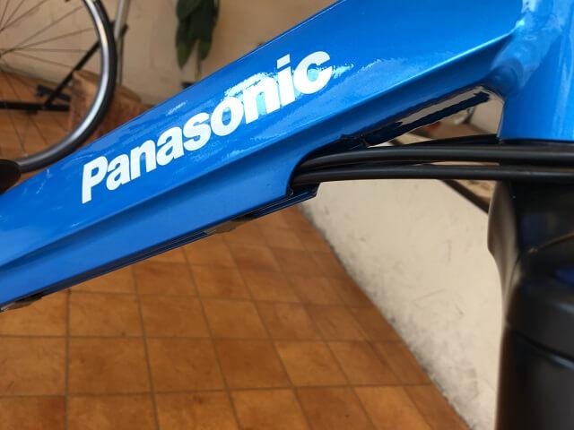 パナソニック電動アシスト自転車「ハリヤ」オリジナルアルミフォーミングフレーム