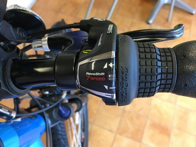 パナソニック電動アシスト自転車「ハリヤ」グリップシフト