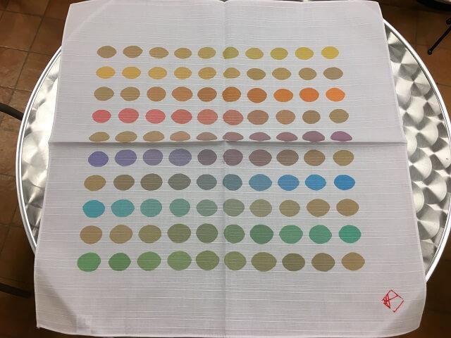 玉村先生の作品のひとつ「百色のこぶろしき」購入