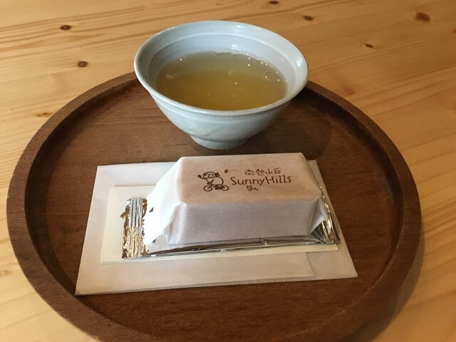 サーにヒルズ南青山の台湾流おもてなし パイナップルケーキと中国茶