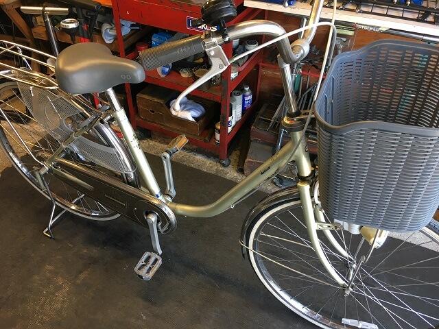 18年前の国産シナモン自転車