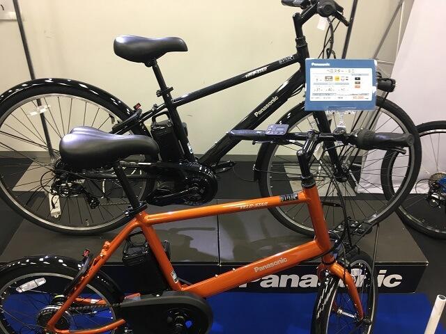 2019パナソニック電動アシスト自転車ベロスター・ベロスターミニ