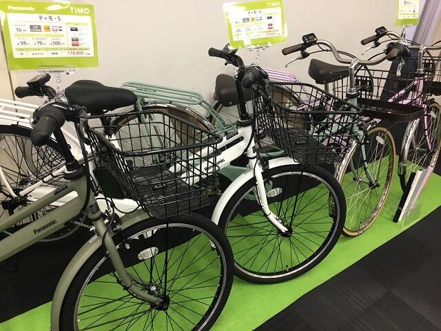 2019パナソニック電動自転車ティモシリーズ