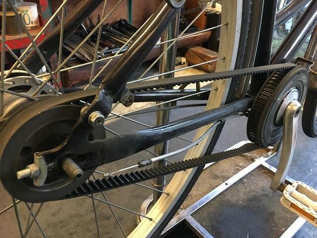 ベルト自転車のベルト