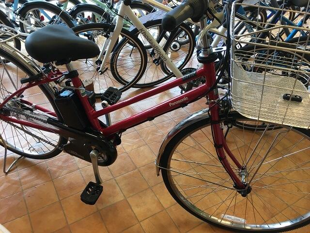 パナソニック電動アシスト自転車ティモDX BE-ELDT755R