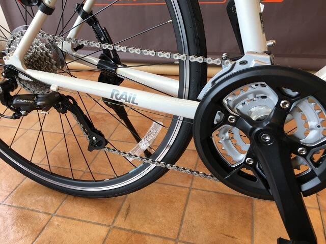 クロスバイク使ってはいけないギヤ位置フロント大とリヤ大
