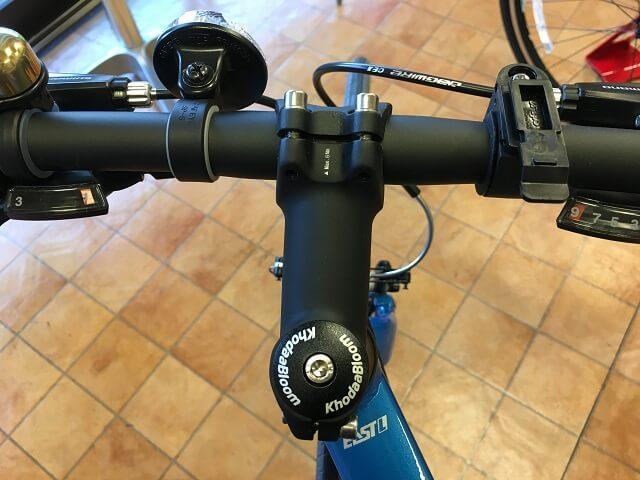 クロスバイクやってはいけない変速レバー位置内内