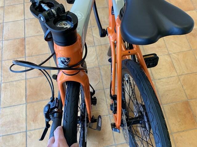 ESRパーサー組み立て方 タイヤを広げる