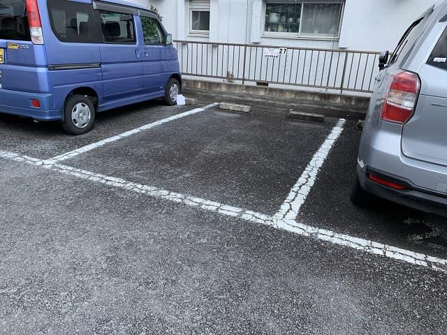 コスナサイクルお客様用駐車場27番